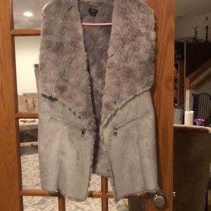 Faux fur / suede coat